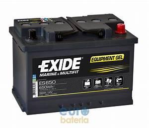 Batterie Exide Gel : battery 12v 56ah exide gel es650 ~ Medecine-chirurgie-esthetiques.com Avis de Voitures