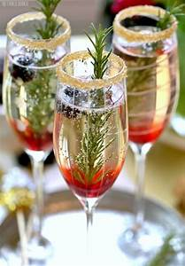 Cocktail Nouvel An : cocktails au champagne pour le nouvel an cuisine ta m re ~ Nature-et-papiers.com Idées de Décoration