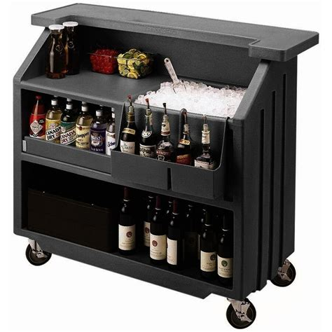 Portable Bar by Cambro Bar540 54 Quot Economy Portable Bar W 5 Bottle Speed