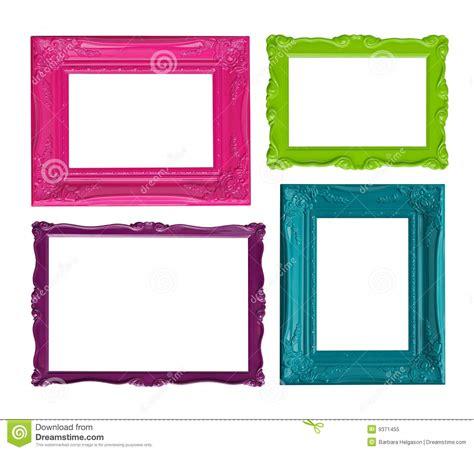 colorful picture frames colorful picture frames royalty free stock photo image