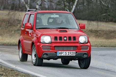 allrad auto kaufen suzuki jimny im gebrauchtwagen test bilder autobild de