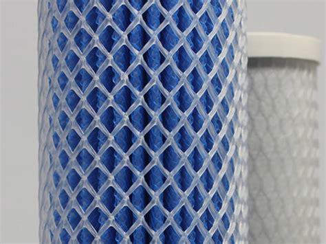 mesh plastic filter tube rigid diamond netting support opening anolyte element uv anode corrosion strength pro