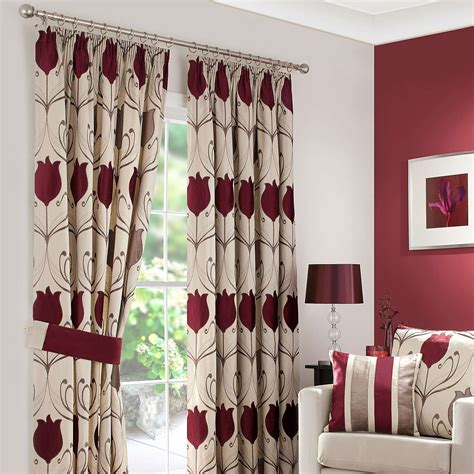 Living Room Curtains Pencil Pleat by Wine Lalique Lined Pencil Pleat Curtains Dunelm