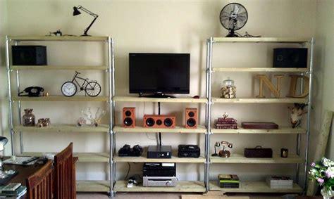 diy industrial shelf ideas
