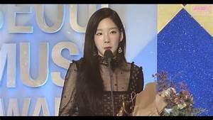 170119 [HD] SNSD-TAEYEON (태연)-Win Bonsang Awards @ 26th ...