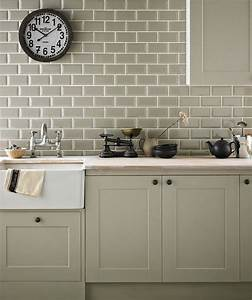 Chartwell sage topps tiles kitchen pinterest for Kitchen with wall tiles images