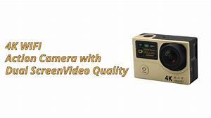 Wlan Cam Test : 4k wifi action camera with dual screen test footage youtube ~ Eleganceandgraceweddings.com Haus und Dekorationen