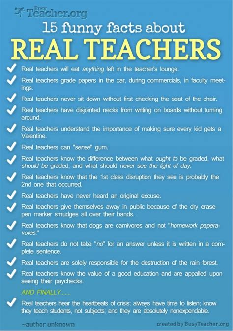 15 facts about real teachers pictures photos and 289   184953 15 Funny Facts About Real Teachers