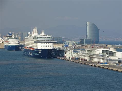 Ship Port by Cruise Ship Port In Barcelona Fitbudha