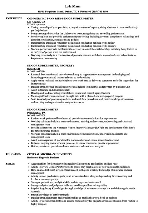 Mortgage Underwriter Job Description For Resume