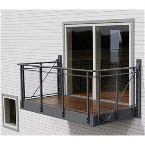 balcony  glitra glass railing midthaug  bim
