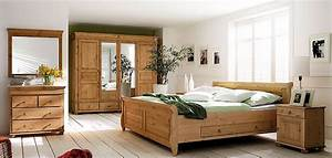 Schlafzimmer Aus Massiver Kiefer Gefertigt Verschiedene