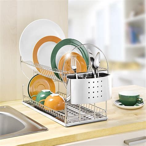 egouttoir 224 vaisselle 2 niveaux wenko egouttoir 224 vaisselle accessoires 233 vier am 233 nagement