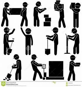 Proceso De Fabricaci U00f3n Trabajo Manual Duro Figura Icono