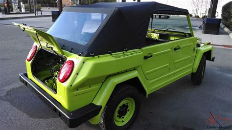 1974 Vw Thing Trekker Type 181 Body Off Restoration