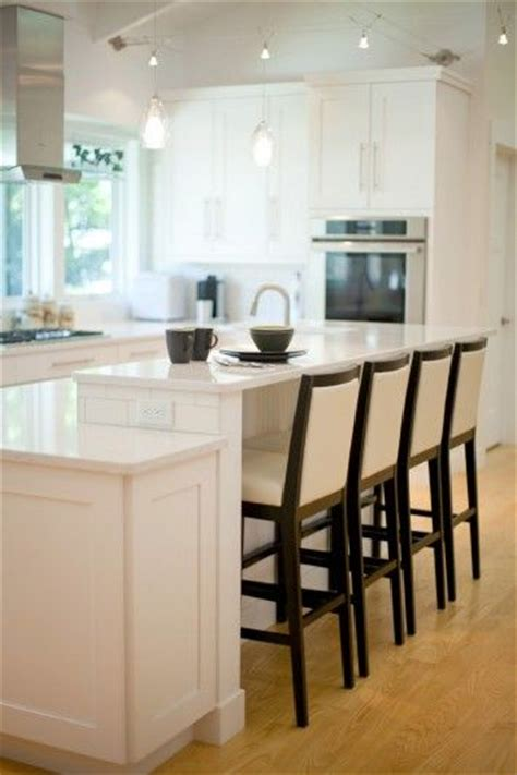 2 level kitchen island 17 best images about kitchen island seating on