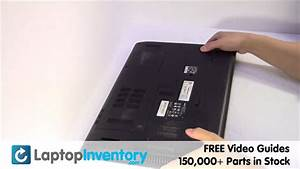 Acer Aspire Battery Installation Replacement Guide