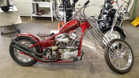 1956 Harley Davidson Flhyd Custom Panhead Chopper