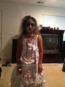 Homemade Zombie Bride Costume for a Girl... This website ...