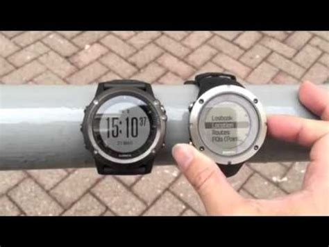 suunto ambit silver hr garmin fenix 3 vs suunto ambits 3 peak gps comparison