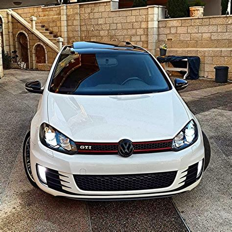 siege golf 1 gti white volkswagen golf mk6 gti automotive car center