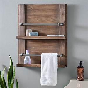 Barnwood, Towel, Rack