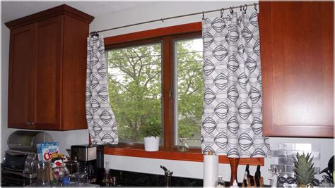 contemporary curtains kitchen modern curtains for kitchen image railing stairs and 2451