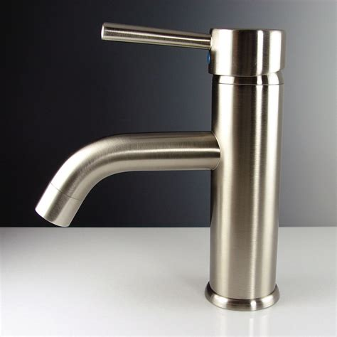 faucet for sink in kitchen fresca fft1041bn sillaro brushed nickel one handle