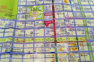 Sapporo Shopping Map