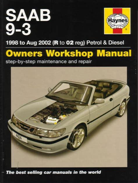 old cars and repair manuals free 2005 saab 9 7x on board diagnostic system saab 9 3 shop manual service repair book haynes chilton convertible turbo viggen ebay