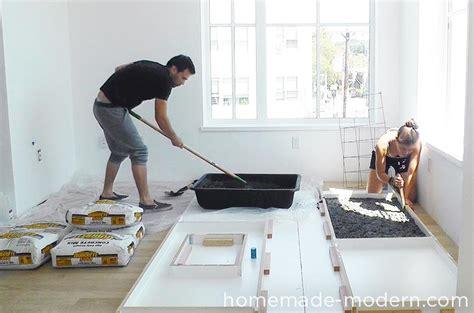 plastic drop cloth for modern ep87 concrete kitchen countertops