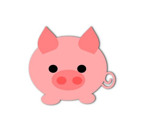 Cute Pig Clipart Many Interesting Cliparts