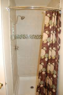 Curved Shower Rod Tension Gallery