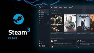 Valve Steam 3.0 Design PC Master Race edition - YouTube  Steam