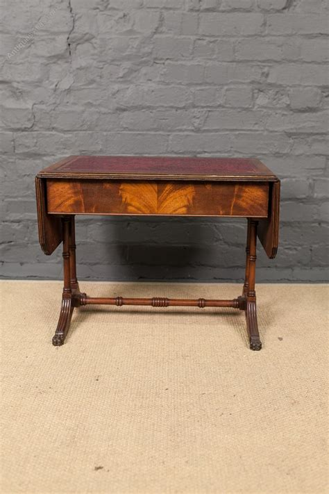 mahogany sofa table antique antiques atlas mahogany dwarf sofa table