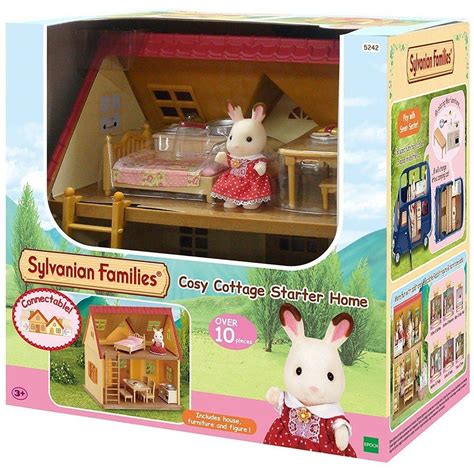 sylvanian families cottage sylvanian families cosy cottage starter home big w