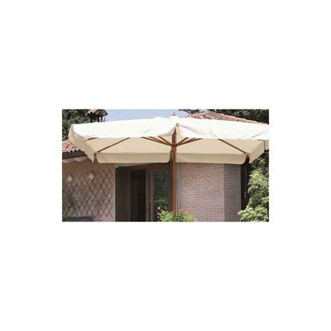 ombrellone per giardino ombrellone bianco 2x3 in legno per giardino e terrazzo