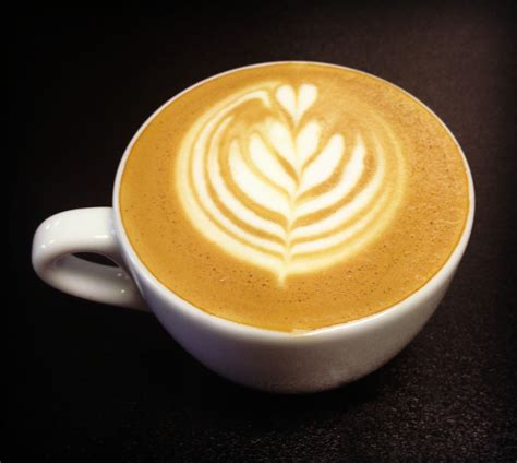 Well, i got my cappuccino, and she got a glass of milk! Coffee Free Pour Latte Art   Latte art, Latte, Coffee