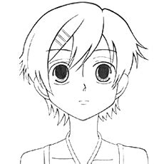 top   printable anime coloring pages
