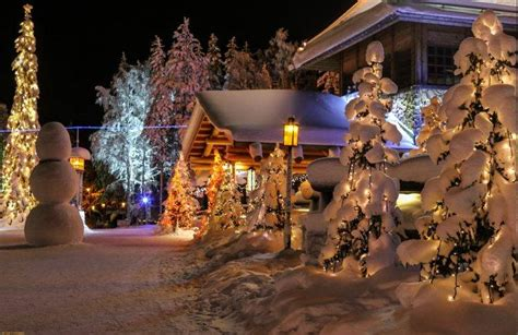 Snow, Night, Trees, Christmas Wallpapers Hd / Desktop And