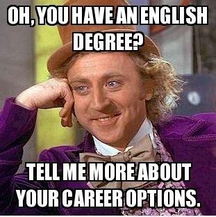 English Major Meme - english major comic belief