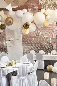 Déco Mariage Champetre : tentures salle mariage champ tre boule papier ivoire ~ Melissatoandfro.com Idées de Décoration