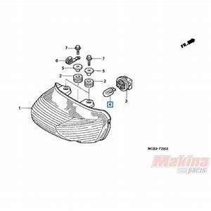 34911mbb611 Taillight Bulb Honda Xl