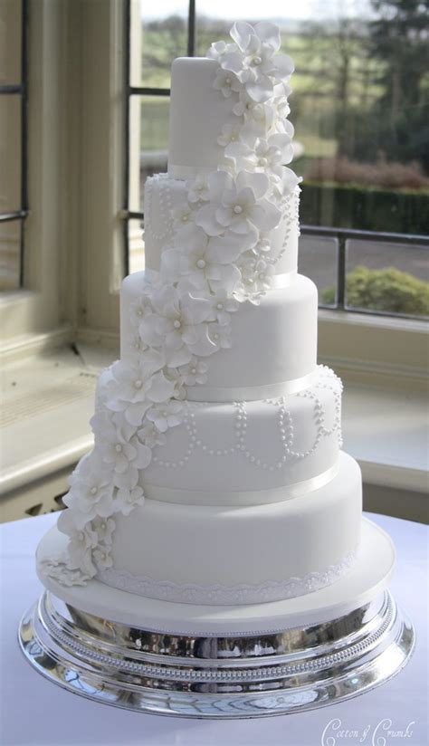 petal flower cascade cake delivered  stunning