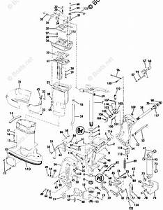 Johnson Outboard Parts By Year 1989 Oem Parts Diagram For Midsection