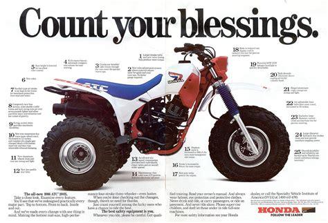 1986 atc honda 200x