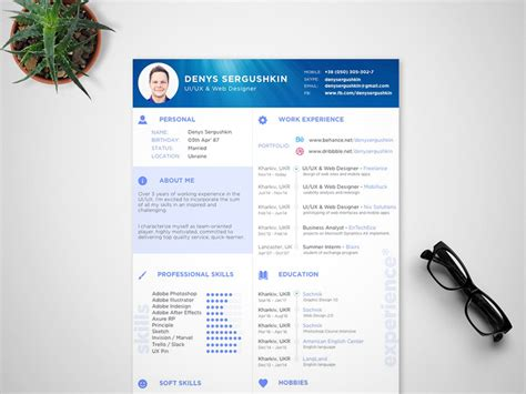 Dimon Resume by Dimond Sketch Freebie Free Resource For Sketch Sketch App Sources