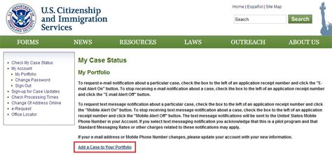 uscis status phone number guide to receive uscis updates via email and text