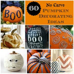 Drill Bit Pumpkin Carving Stencils by All Things Katie Marie 60 No Carve Pumpkin Decorating Ideas