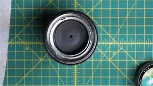 Yus  Yashica  135mm Automatic 135mm F2 8 Lens Disassembly